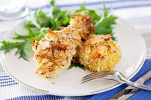 Crunchy chicken drumsticks recipe