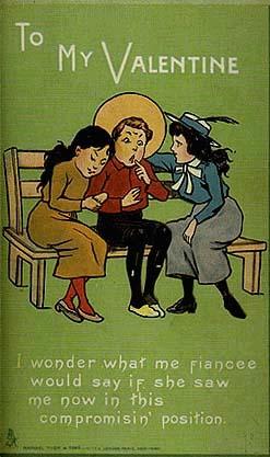Valentine's Day: Championing monogamy until 1947.