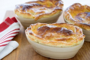 Beef, Guinness and mushroom pies