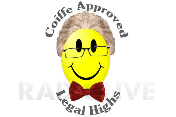 Peter Dunne's 'Coiffe Approved' legal highs - what the government approval symbol could look like