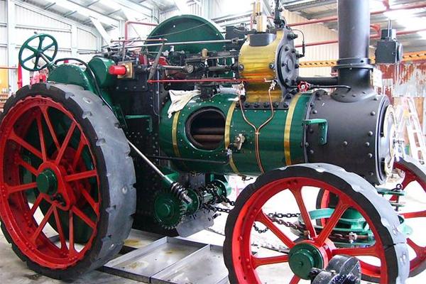 1900 Fowler Traction Engine. Listing #: 522470522