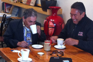 Sam Kuha and Hone Harawira