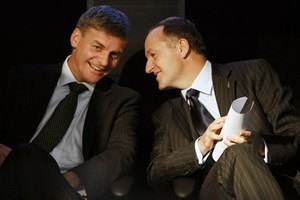 Bill English and John Key