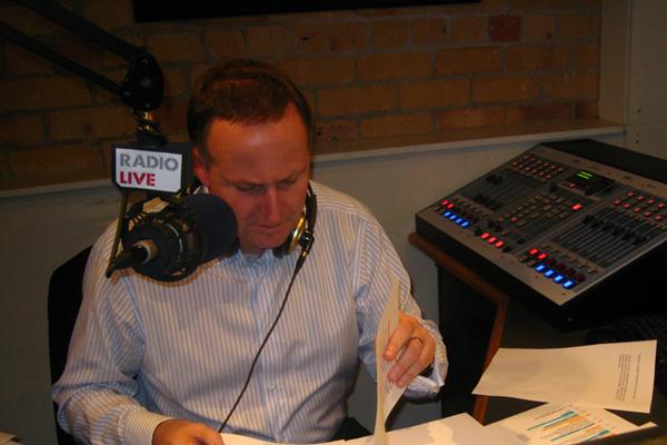 John Key RadioLIVE show