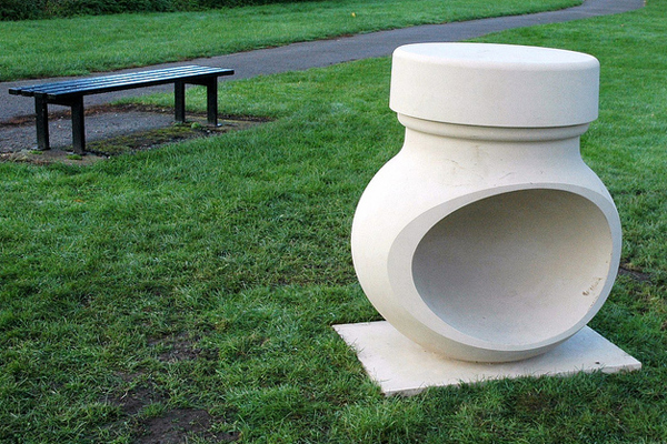 Marmite sculpture, UK