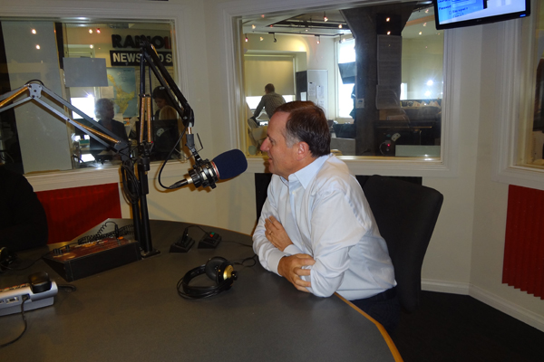 John Key, back at RadioLIVE for the first time since the PM's Hour