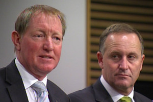 Nick Smith and John Key