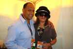 Willie Jackson with wife Tania