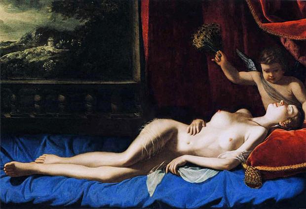 Giordano's slimmer Venus sleeps easier. Photograph: www.annautopiagiordano.it