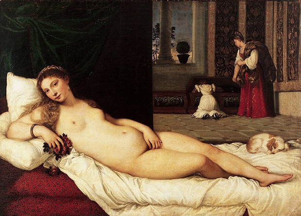 Titian: The Venus of Urbino. Photograph: Uffizi Gallery, Florence/Corbis