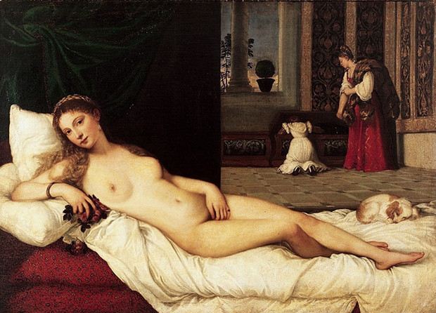 Giordano's reimagination of Titian's Venus. Photograph: www.annautopiagiordano.it