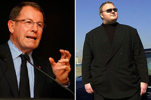 John Banks and Kim Dotcom