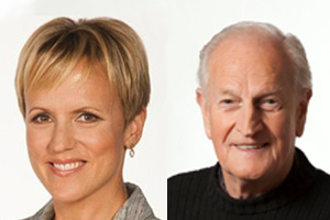 Hilary Barry and Ewing Stevens