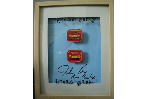 John Key's emergency marmite supply. Listing #: 477968826