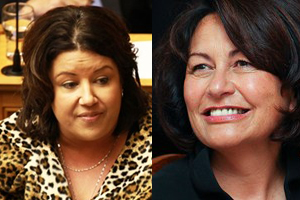 Paula Bennett and Hekia Parata