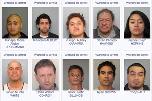 Police wanted faces