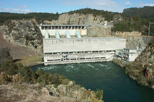 The Ohakuri Dam on the Waikato River