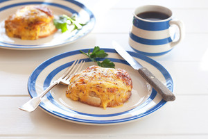Croque crumpet recipe