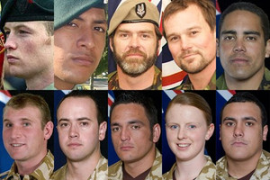 Kiwi soldiers lost in Afghanistan