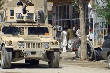 Afghanistan Hummer