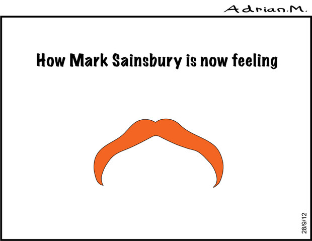 Mark Sainsbury today?