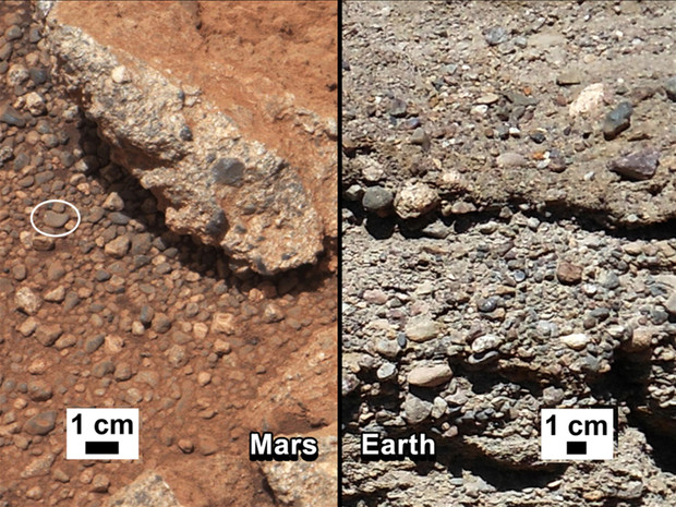 Mars Riverbed