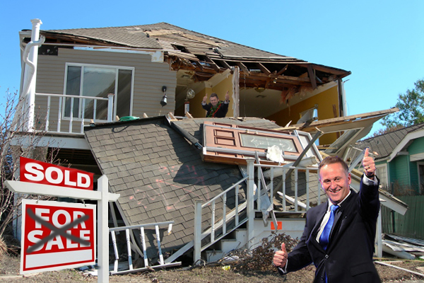 Key, Cunliffe, trashed house