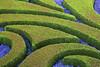Curved garden design