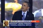 Barack Obama Nelson Mandela speech