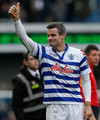 Ryan Nelson farewells the fans at QPR