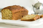 Banana bread coconut loaf