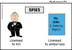 Cartoon: Spies