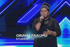 Oriana Faaumu X Factor NZ