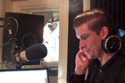 Willy Moon in studio