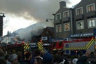 Queenstown restaurant fire. Photo: @backpackingmatt