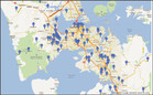 Auckland P lab busts between 2010 and 2012. Source: MethSolutions