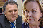 Shane Jones and Judith Collins