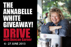 The Annabelle White Drive giveaway