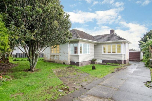 Shabby, but standing. Worth $722k? Photo: Harcourts