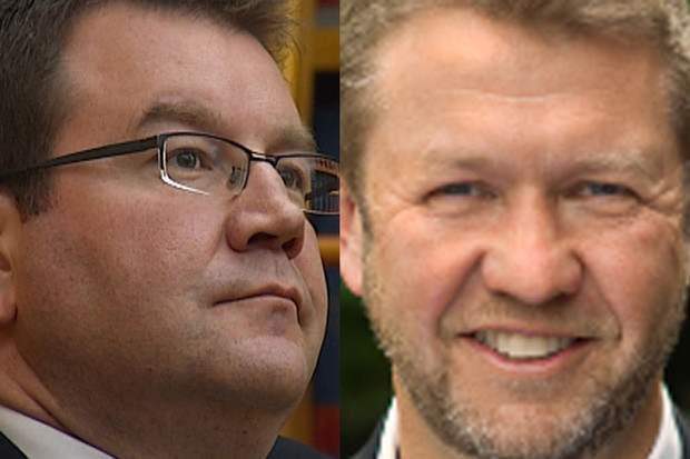 grant Robertson and David Cunliffe