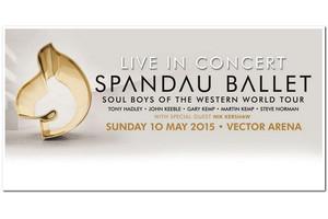 Spandau Ballet in concert in NZ