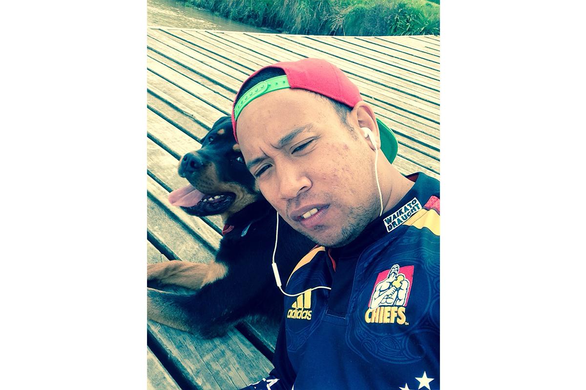 Jeremiah: Dog 'selfie'
