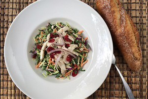 Chicken cranberry salad recipe