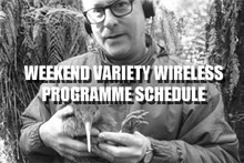 Weekend Variety Wireless with Graeme Hill - Line Up