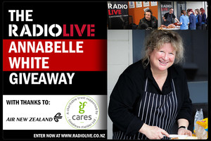 The RadioLIVE Annabelle White giveaway