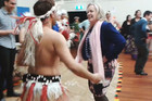 Judith Collins dancing