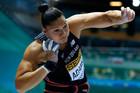 Valerie Adams wins gold in Glasgow