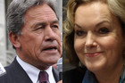 Winston peters and Judith Collins