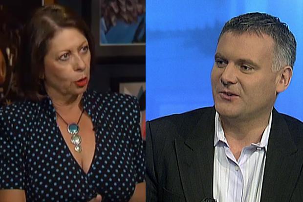 Michelle Boag and Matthew Hooton on Sainso's show