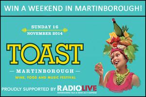 Toast Martinborough!
